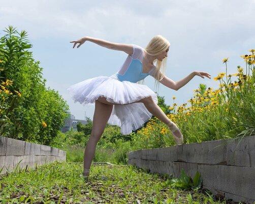Балерины на улицах