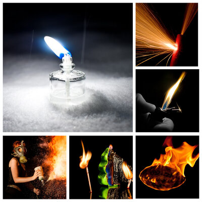 Как фотографировать огонь, или пламя, как объект, акцент и источник света