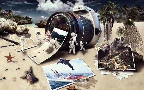 Как сделать коллаж без потери качества фото