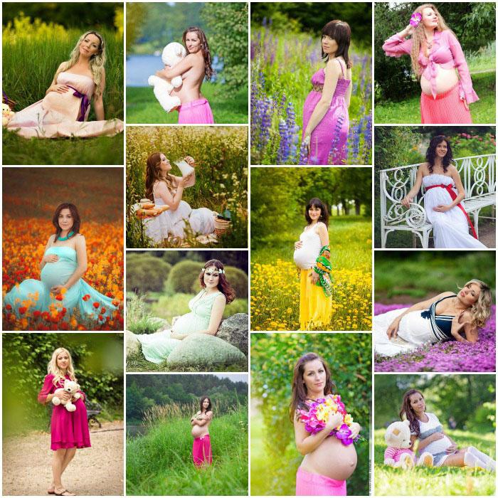 Фотосессия для беременных: 45 фотоидей фотосессии дома, в