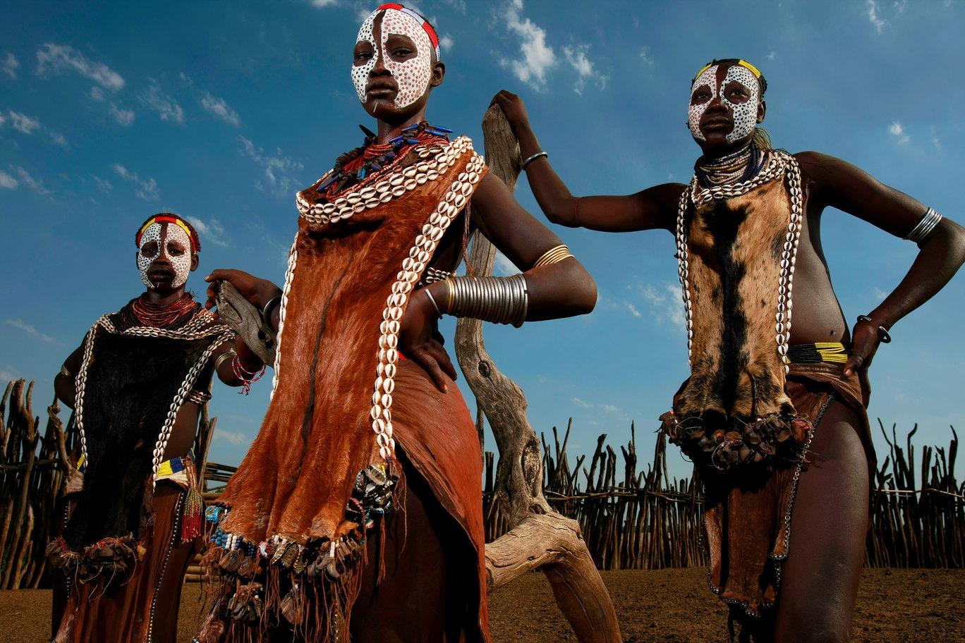 Смотреть африканское аборигенов 5 фотография