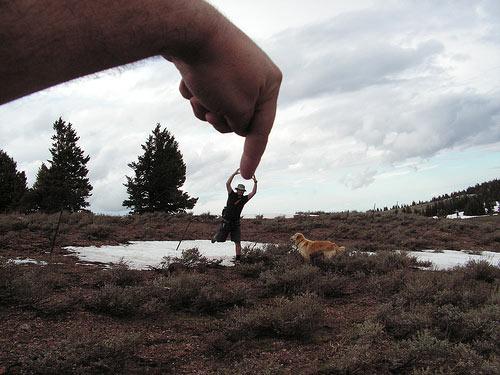 Принудительная Перспектива в Фотографии (Forced Perspective) - №27