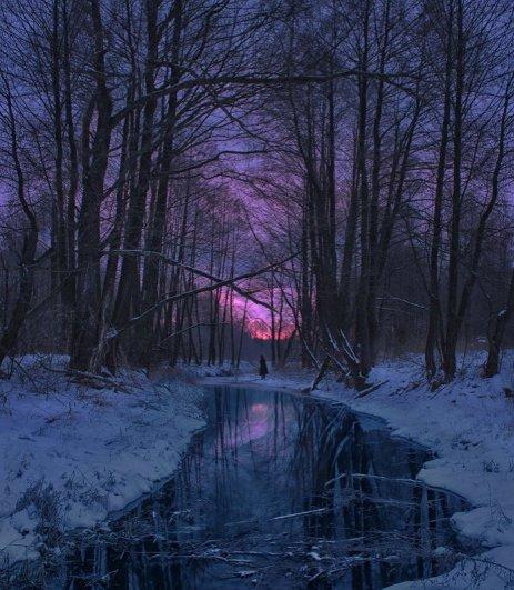Зимнее утро. Белый Колодезь