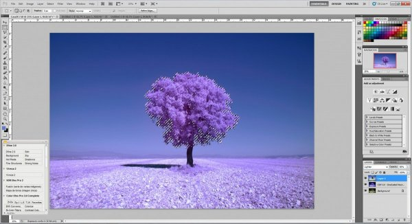 инфракрасный фильтр фото