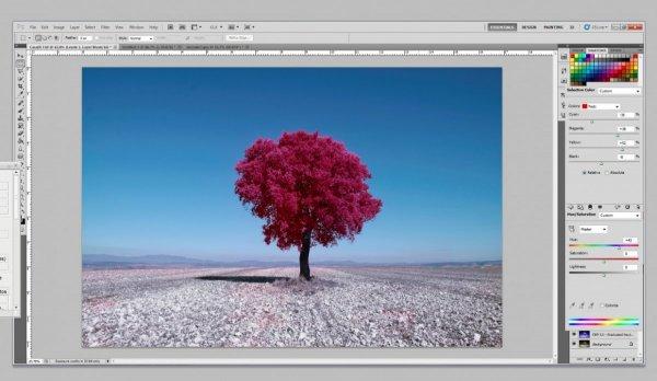 как сделать инфракрасное фото