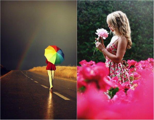 первые цветные фотографии