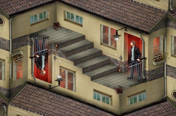 оптические иллюзии картинки
