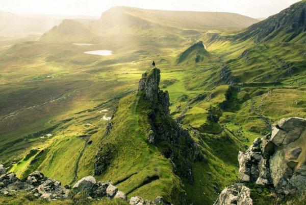 Захватывающие места - Остров Скай, Шотландия