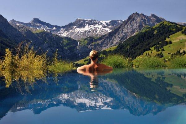 захватывающие места планеты - Отель «Кембрия» в швейцарских Альпах