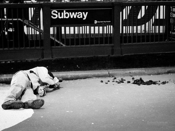 Профессиональный фотограф - Уличный фотограф. Автор фото: Роберт Ньюман