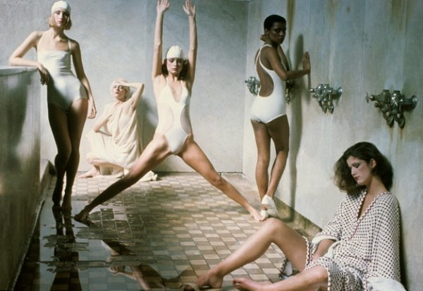 Дебора Турбевилль. Американский Vogue, май 1975. © 1975 Condé Nast