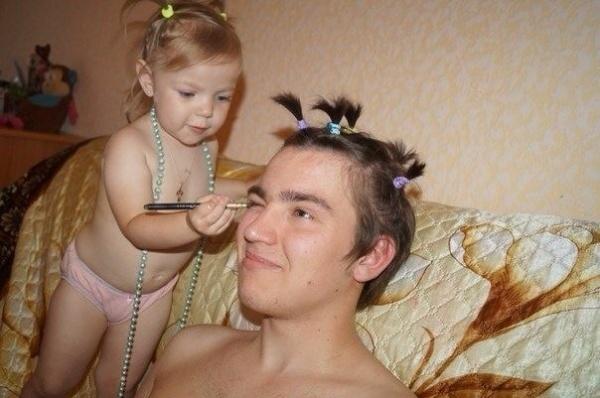 - У меня есть дочь, поэтому я буду прекрасен всегда!!! ;)) - №6