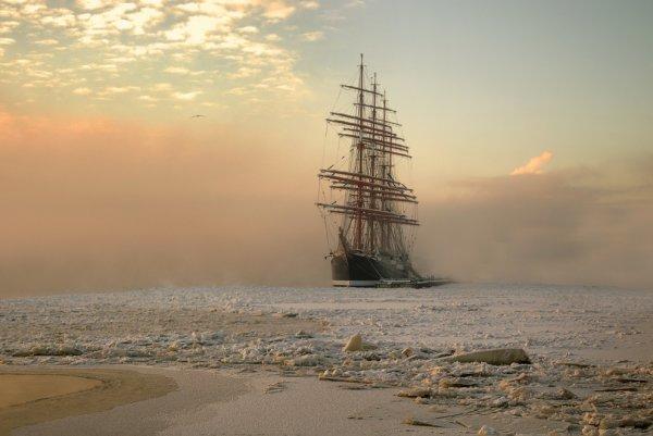Эдуард Гордеев - В морозном тумане