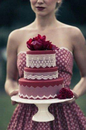 Свадьба в цвете МАРСАЛА - №14