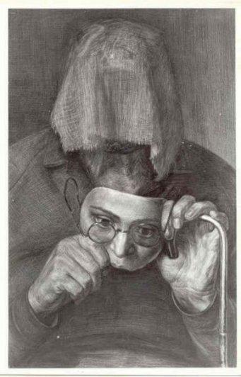 """""""Портрет женщины с сожженным лицом"""""""