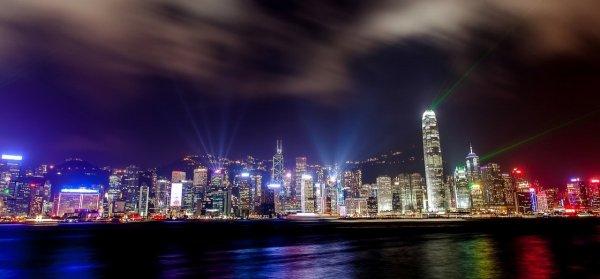 фотографии ночного города