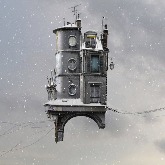 Laurent Chehere Flying Houses  RUE DISPARUE 2015