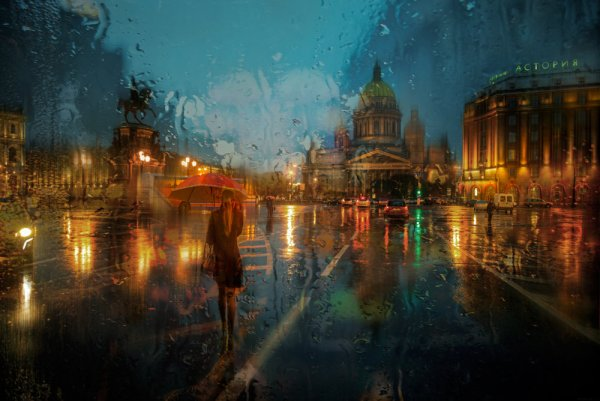 ноябрьский дождь... Автор: Эдуард Гордеев