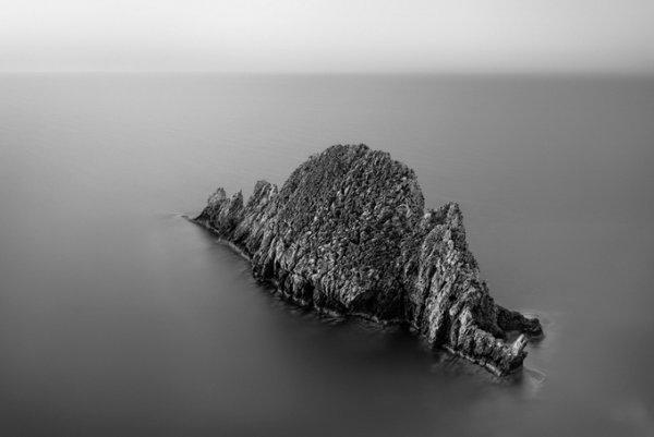черно-белые пейзажи природы 4