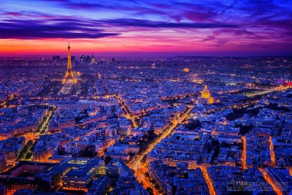 живописные пейзажи городов мира