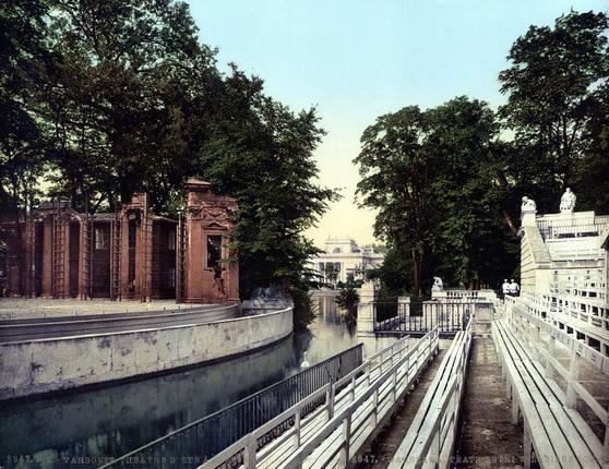 Неизвестный автор. Варшава. Театр. 1900 – 1910-е. Фотохром