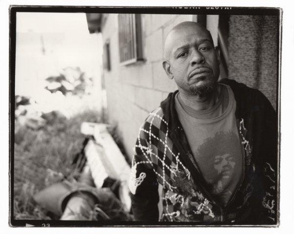 черно-белые портреты знаменитостей – Форест Уитакер (Forest Whitaker)