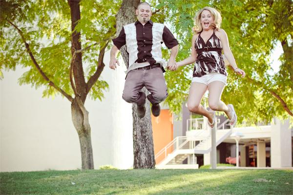 свадебная съемка фото в прыжке