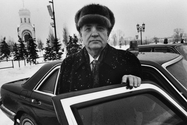 Михаил Горбачев (Mikhail Gorbachev) , Москва, 1999