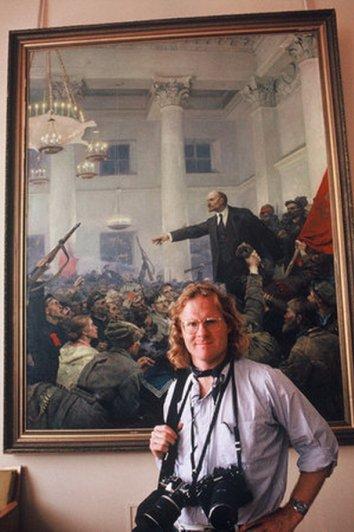Питер Тернли (Peter Turnley) в Кремле, 1991