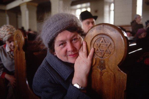 Синагога, Москва, 1990 – документальный портрет в фотографии