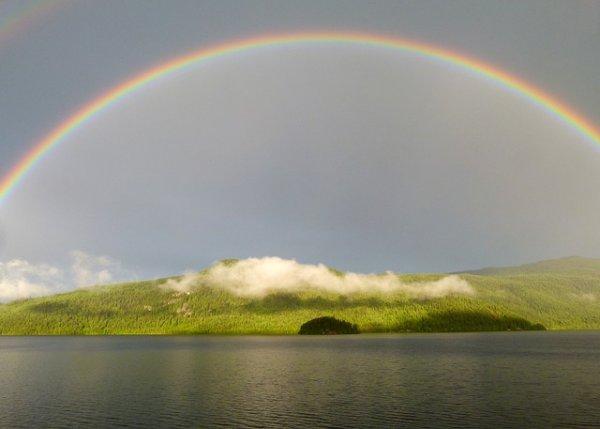 Фотографируем радугу