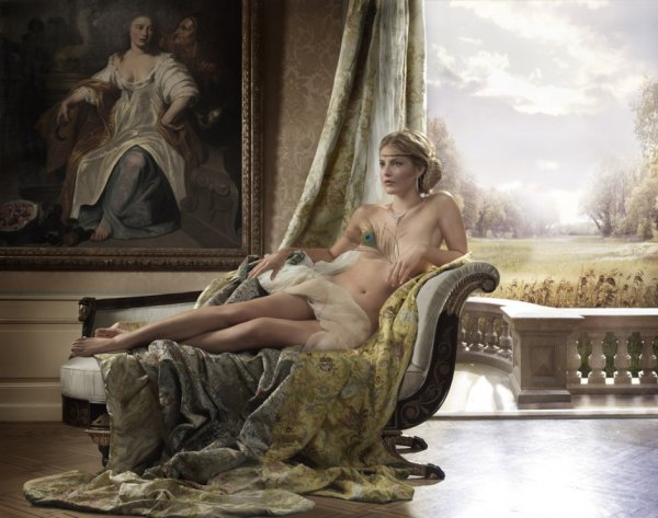 классические портреты обнаженной натуры