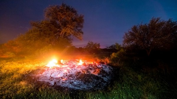 цветной фото пейзаж ночью