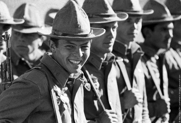 Те, кому повезло вернуться живыми из Афганистана! 1986год.