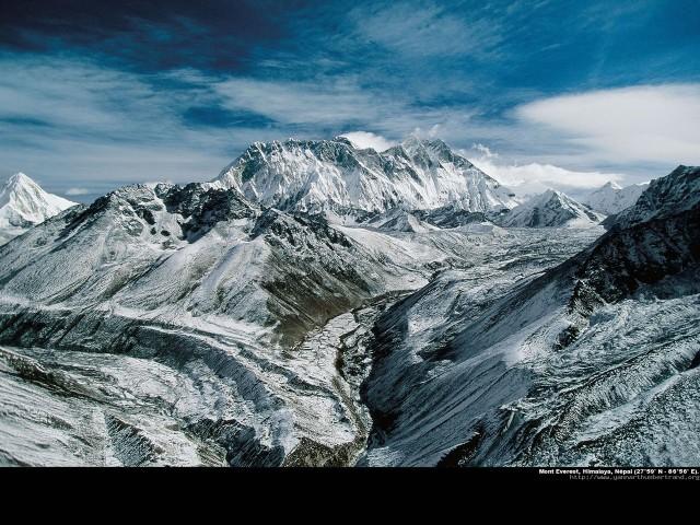 фото гор 21 – Джомолунгма Эверест