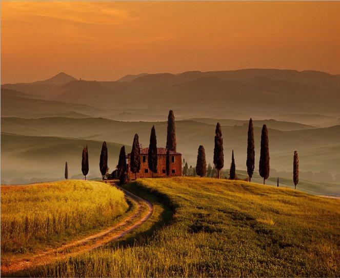 Вечер в Тоскане. Автор фото: Виктор Перякин