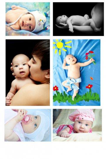 Автор: Надежда Баранова – фото младенцев