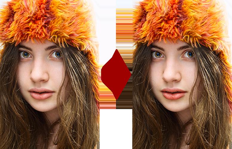 основы ретуши лица 9