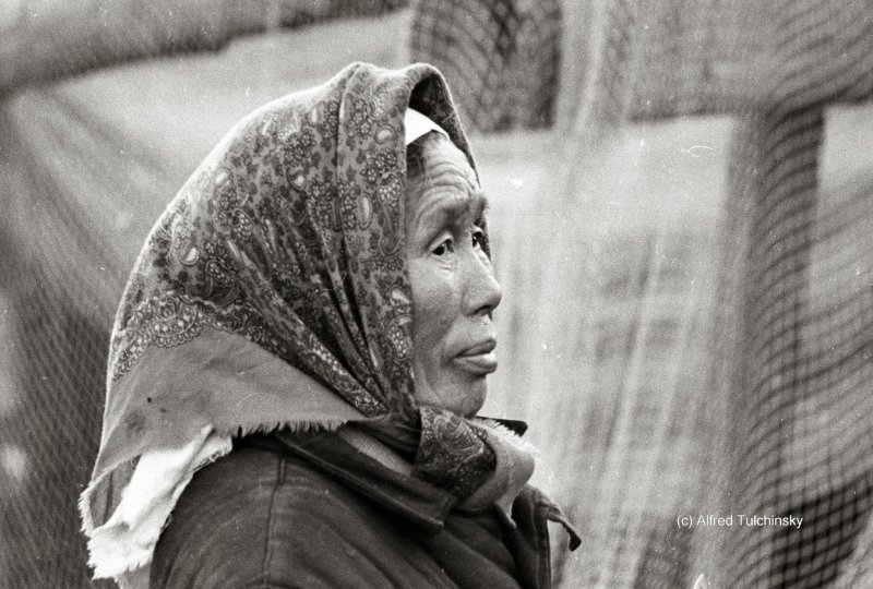 Бабушка Варвар, Енисей, 1967 год.