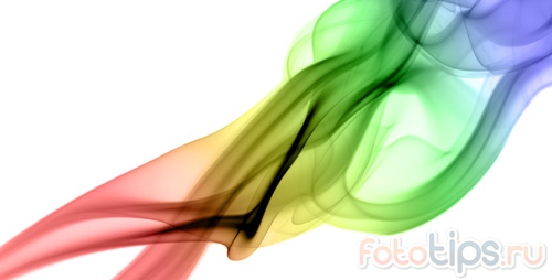 как сделать цветной дым