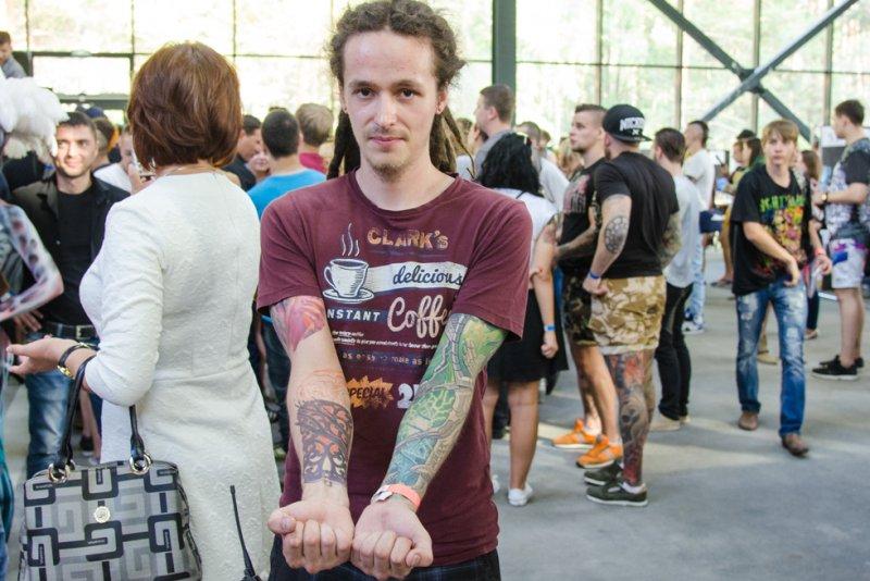 5-й Сибирский вестиваль татуировки