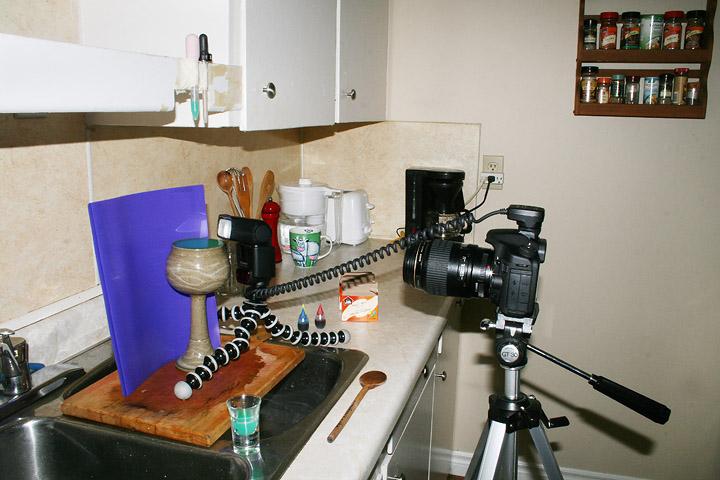 Как фотографировать капли и брызги в движении