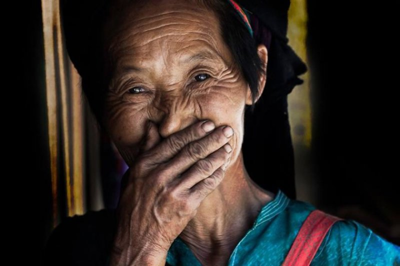 """Глаза людей и """"скрытая"""" улыбка в фотографиях французского фотографа Рехана - №15"""