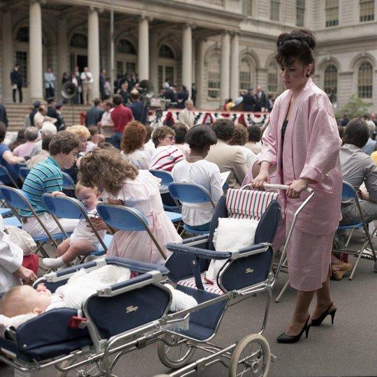 Нью-Йорк 1980-х годов в объективе Джанет Делани - №9