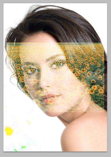 Режим наложения для  двойной экспозиции в фотошопе.