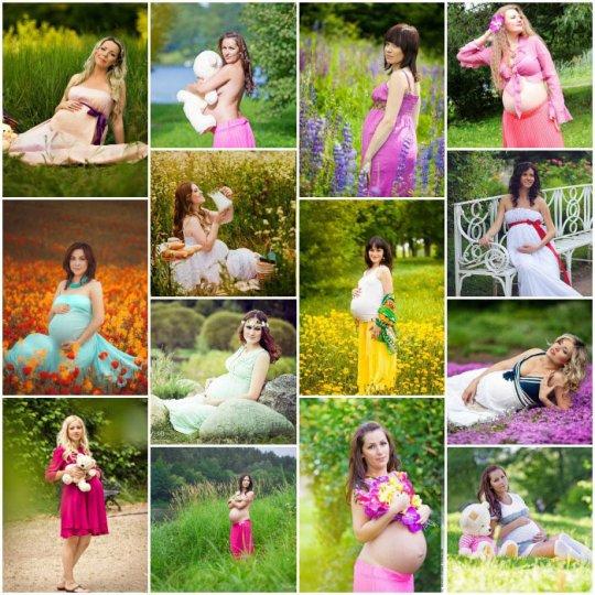 Идеи для фотосессии беременных
