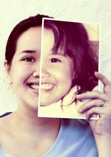 Необычные идеи для фотосессии: фото с фото.