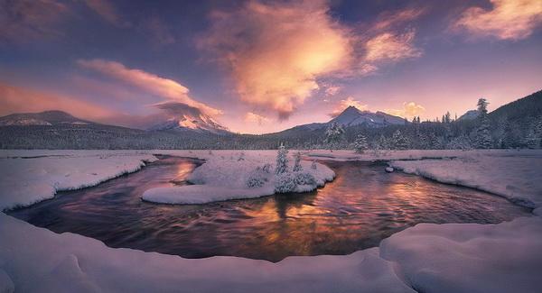 Великолепие пейзажной съемки в творчестве Марка Адамуса - №11