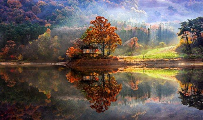 Зеркальные пейзажи Чже Вун Ю - №7