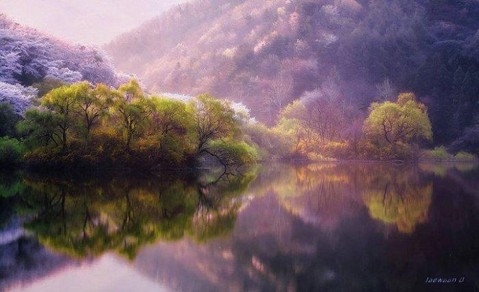 Зеркальные пейзажи Чже Вун Ю - №11